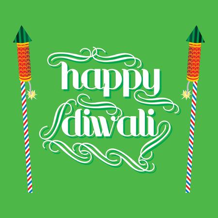 deepak: creative diwali festival concept vector illustration