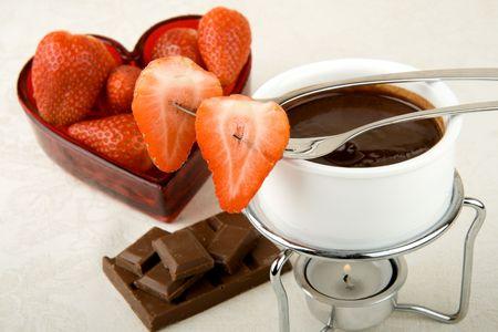 Valentine fondue