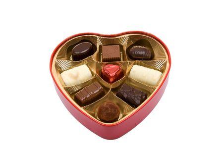Chocolate pralines photo