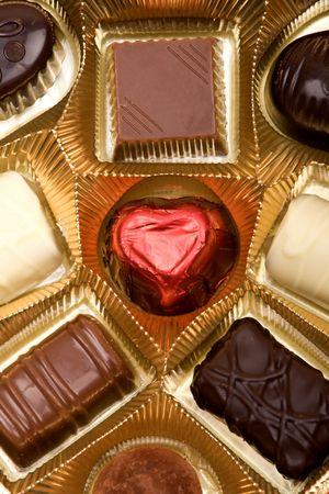 pralines: Chocolate pralines