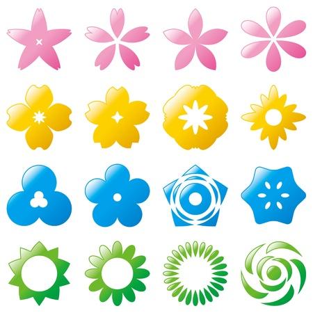 flower icon  Illustration