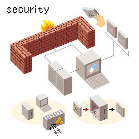 network server: security icon