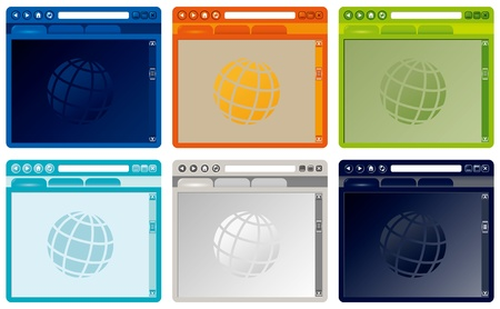 popup: colorful internet browser