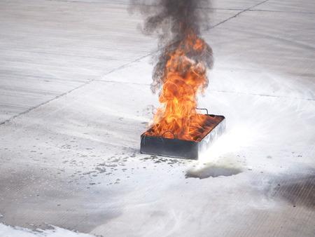 quemadura: fire burn