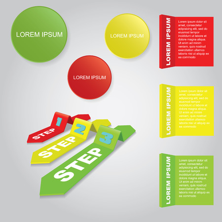 step up: 3d Infographic elements. Vector illustration. Can be used for workflow layout, banner, number options, step up options, web design