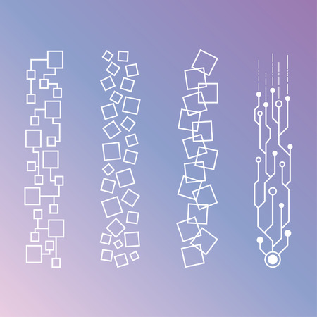 futurictic: Minimalistic Geometric Patterns