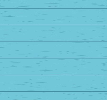 Blue wood texture. Seamless vector pattern.