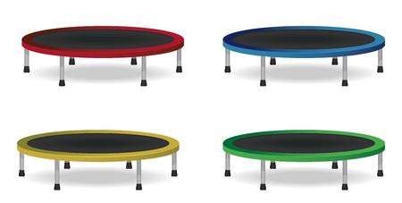 Kreisspringen Trampolin Set