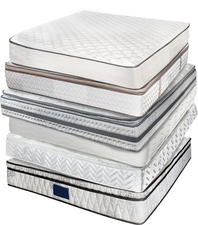 queen bed: mattress