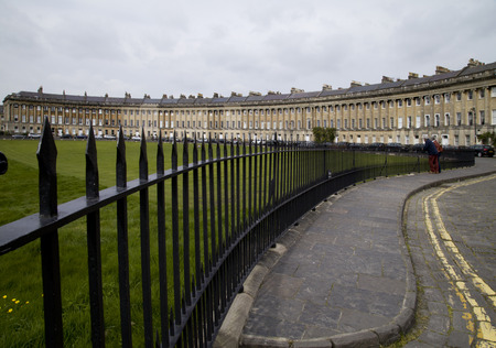 crescent: Royal Crescent Bath UK