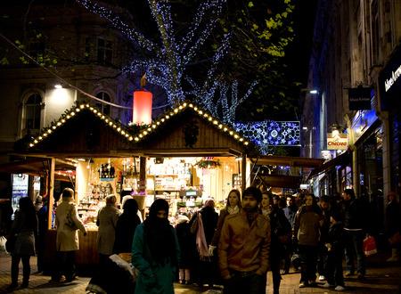 christmas market: Frankfurt German Christmas Market Birmingham UK