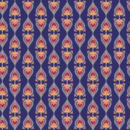 The pattern of ethnic ornament. Print for fabrics, shawls, stoles Vector