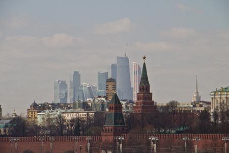 Kremlin in Moscow. Reklamní fotografie