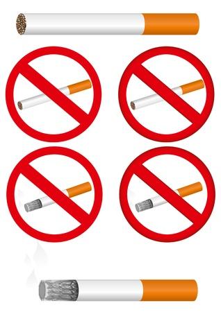 forbidding: Sign forbidding smoking