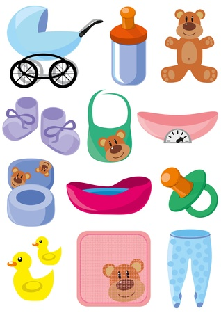 bootees: Children s set of subjects