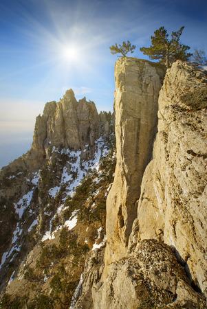 Peak of the Ai-Petry mountain photo