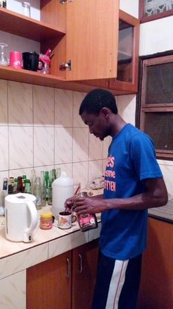 best coffee: Preparing the best coffee in Uganda