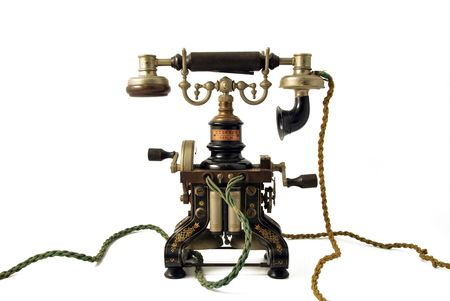 old telephone Stock Photo - 4428909