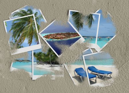 Maldives photo collage  photo