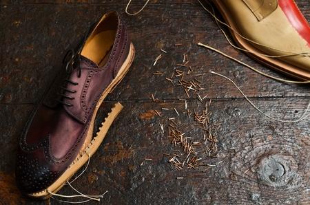 craftsmanship: shoes building
