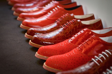 red shoes: Red shoes