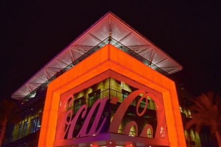 Orlando, Florida. November 24, 2018. Top view of Coca Cocal Store at Lake Buena Vista