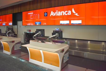 Orlando, Florida. March 01, 2019. Partial view of Avianca Airlines counter at Orlando International Airport. Editöryel