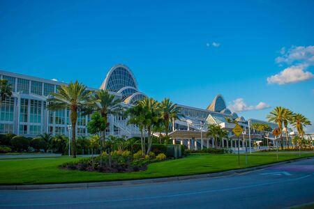 Orlando, Florida. May 23, 2019. Convention Center in International Drive area (240) Редакционное