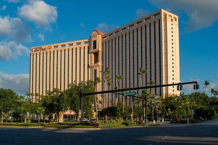 Orlando, Florida. May 23, 2019. Panoramic view of Rosen Center Hotel at International Drive area (3)