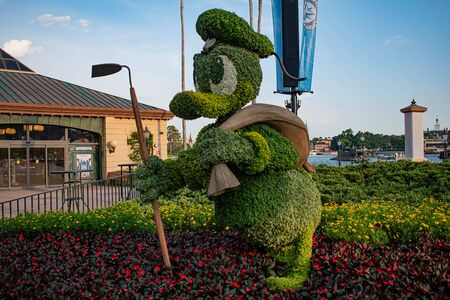 Orlando, Florida. May 28, 2019. in Epcot at Walt Disney World Resort (24)