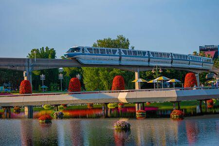 Orlando, Florida. May 28, 2019. in Epcot at Walt Disney World Resort (48) Editorial