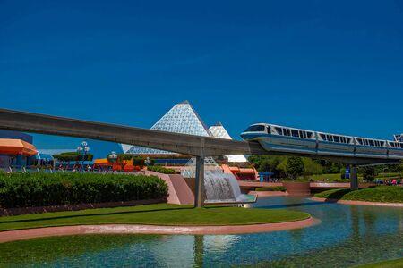 Orlando, Florida. May 24, 2019. in Epcot at Walt Disney World Resort area (5)