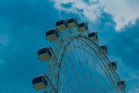 Orlando, Florida. July 05, 2019 Partial view of Big wheel in International Drive area. 2 Editorial