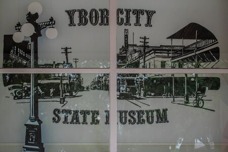 Tampa Bay, Florida. July 12, 2019. City pictures in Ybor City State Museum 1