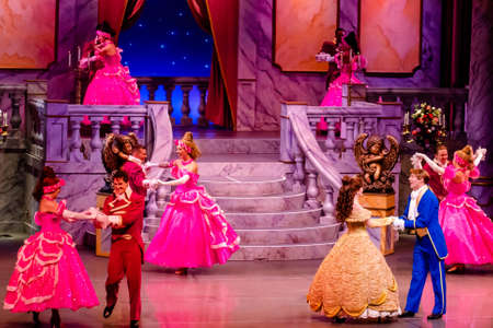 Orlando, Florida. January 03, 2020, Beauty and the Beast Live on Stage at Hollywood Studios (95) Redactioneel