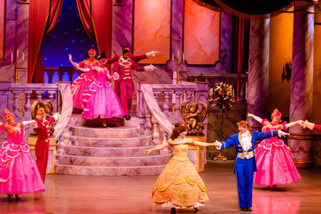 Orlando, Florida. January 03, 2020, Beauty and the Beast Live on Stage at Hollywood Studios (96) Editorial