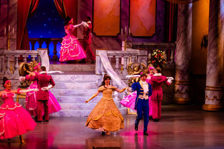 Orlando, Florida. January 03, 2020, Beauty and the Beast Live on Stage at Hollywood Studios (94) Editorial