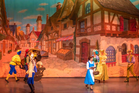 Orlando, Florida. January 03, 2020, Beauty and the Beast Live on Stage at Hollywood Studios (98)