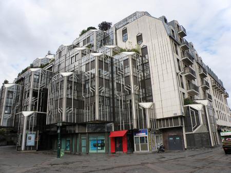 postmodern: Les Halles shopping center