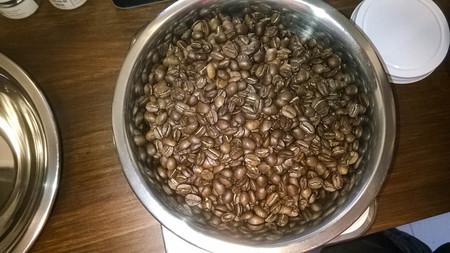 Pot of coffee beans Stok Fotoğraf