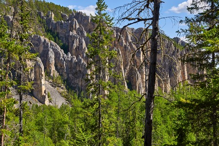 National heritage of Russia placed in republic Sakha, Yakutia, Siberia, when you inside
