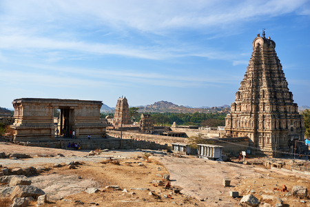 Element of ancient architecture, Hampi