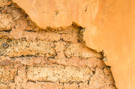 Background of home soil wall texture. Stock Photo