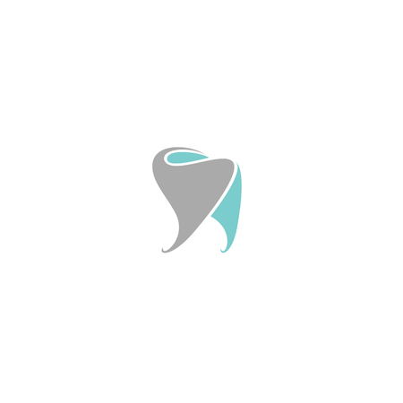 Tooth the dentist symbol vector