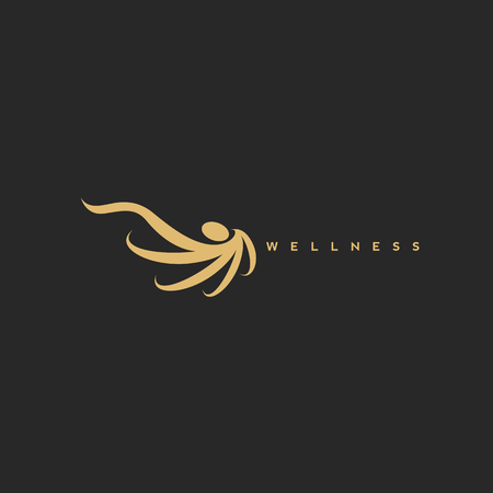 Wellness icon means emotional, spiritual, environmental, occupational, intellectual.