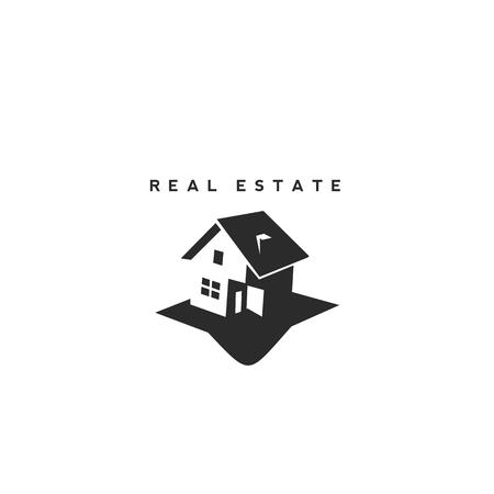 Real Estate vector logo design template. Banco de Imagens - 94376272