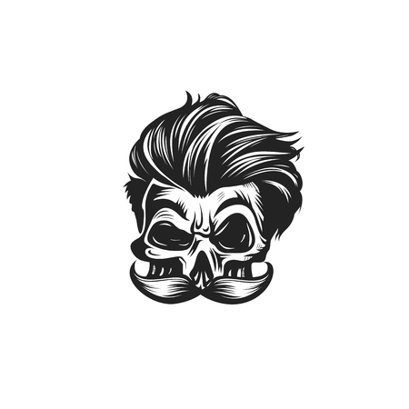 Swag skull vector illustration Illustration