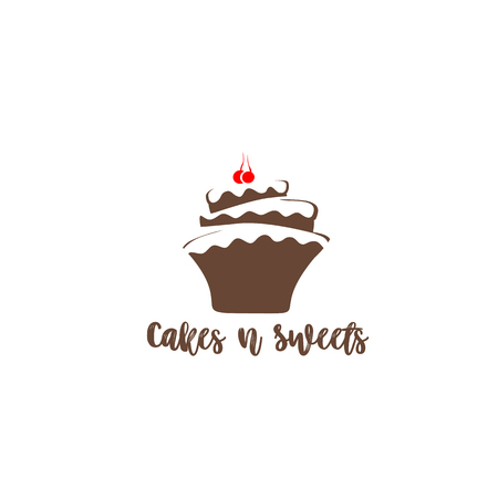 Cake icon Illustration