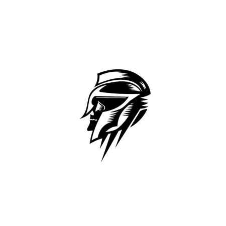 tête de chevalier icône illustration vectorielle