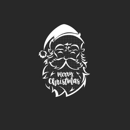 Santa claus logo vector illustration Illustration